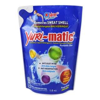 Yuri-matic Laundry Liquid Detergent Refill - Romantic Blue