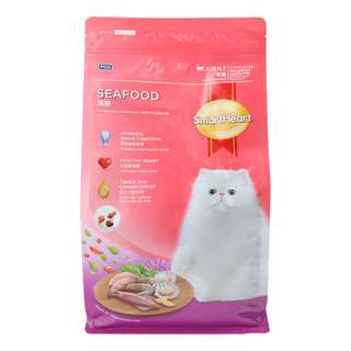 SmartHeart Adult Cat Dry Food - Seafood
