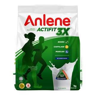 Anlene Move Max Regular Adult Milk Powder - Plain