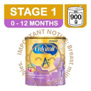 Enfamil A+ Gentlease Infant Milk Powder Formula - Stage 1