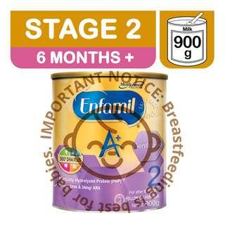 Enfamil A+ Gentlease Baby Milk Powder Formula - Stage 2