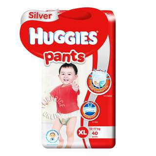 Huggies Baby Diaper Silver Pants - XL (12 - 17kg)