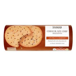 Tesco Biscuits - Chocolate Chip Digestive