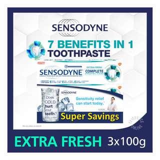 Sensodyne Toothpaste - Complete (Extra Fresh)