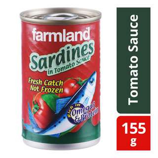 Farmland Sardines are canned from freshly caught sardines, from the Western Pacific Ocean Area<br/>Freshly canned sardines give better taste and flavour than frozen sardines