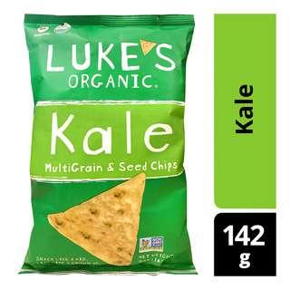 Luke's Organic MultiGrain & Seed Chips - Kale