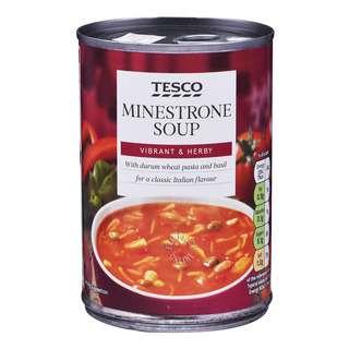 Tesco Soup - Minestrone