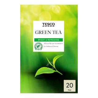 Tesco Tea Bags - Green Tea