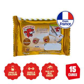 The Laughing Cow Cheese Snack Belcube -Plain,Cheddar&SmokedCheese