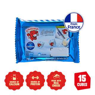 The Laughing Cow Cheese Snack Belcube - Plain