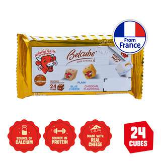The Laughing Cow Cheese Snack Belcube-Plain,Cheddar&SmokedCheese