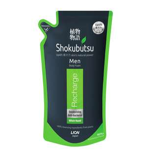 Shokubutsu Men Body Foam Refill - Recharge