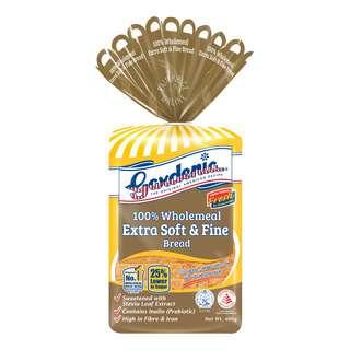 Gardenia Enriched White Bread - Wholemeal (Super Soft & Fine)