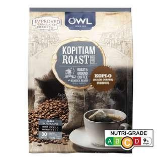 Owl Kopitiam Roast & Ground Coffee Bags - Kopi-O
