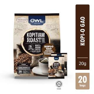 <p>Owl crafted recipes in manual roasting process enhances caramelised coffee aroma and definite robust flavour with dark, coarse ground coffee that gives a good old char taste in every cup.</p>