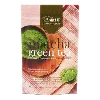 Green Pot Matcha Green Tea Powder