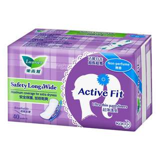 Laurier Active Fit Pantiliners - Safety Long & Wide