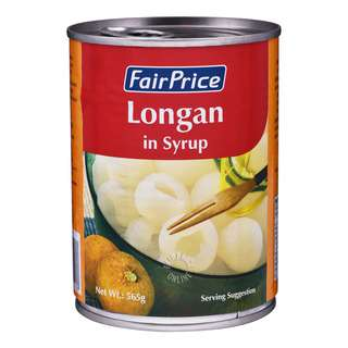 FairPrice Can Fruit in Syrup - Longan