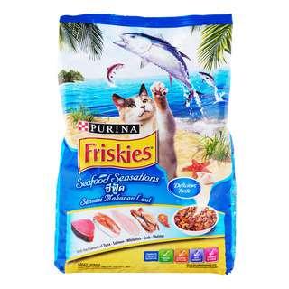 Friskies Adult Dry Cat Food - Seafood Sensations