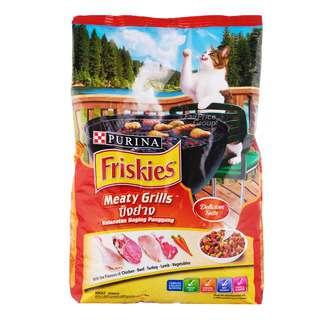 Friskies Adult Dry Cat Food - Meaty Grills