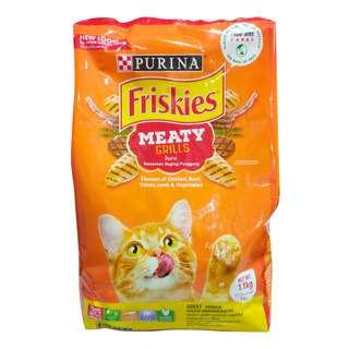 Friskies Delish Cat Dry Food - Meaty Grills