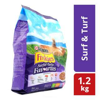 Friskies Cat Dry Food - Surf & Turf