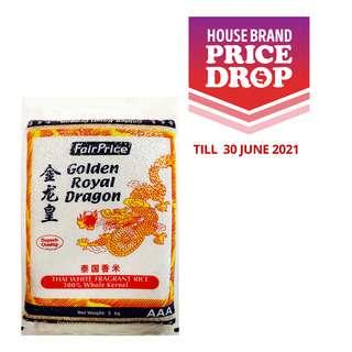 FairPrice AAA Golden Royal Dragon Thai White Fragrant Rice