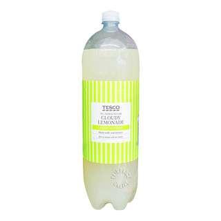 Tesco Cloudy Lemonade Bottle Drink (No Added Sugar)