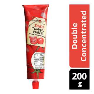 Tesco Tomato Puree - Double Concentrated