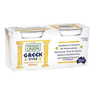 Farmers Union Greek Style Yoghurt - Honey