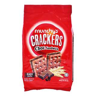 Munchy's Sandwich Crackers - Chocolate