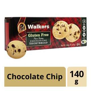 Walkers Gluten Free Shortbread - Chocolate Chip