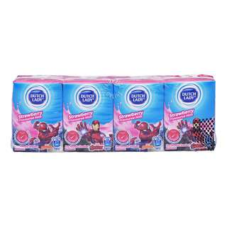 Dutch Lady Marvel UHT Kid Milk - Strawberry