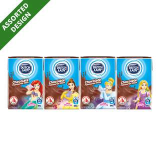 Dutch Lady Princess UHT Kid Milk - Chocolate