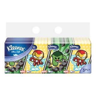 Kleenex Pocket Tissues - Marvel (3ply)