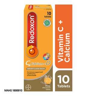 Redoxon C+Calcium+D Effervescent Tablets - Orange