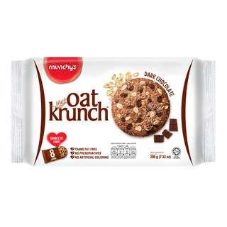 Munchy's Oat Krunch Crackers - Dark Chocolate