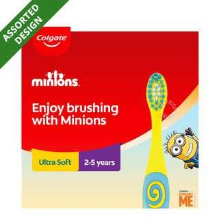 Colgate Kids Toothbrush - Minions (2 - 5 years)