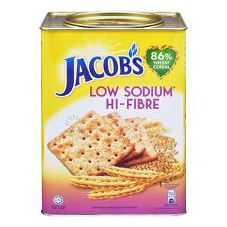 Jacob's Wheat Crackers - Low Sodium Hi-Fibre