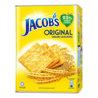 Jacob's the Original Cream Cracker! For over 60 years, Jacob's has been the preferred choice for people of all ages. Generations of Singaporeans trust and love Jacob's for its taste and product quality. The Jacob's range of products has grown and evolved from a plain cracker to a comprehensive range of quality crackers including Cream Cracker, Weetameal, Hi-Fibre and Low Salt Hi-Fibre. Enjoy all of Jacob's biscuits now!