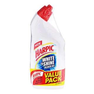 Harpic White & Shine Bleach Gel