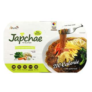 Arumi Japchae Korean Style Vegetable Pasta - Soy Sauce
