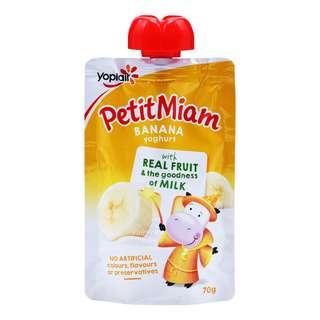 Yoplait Petit Miam Yoghurt - Banana