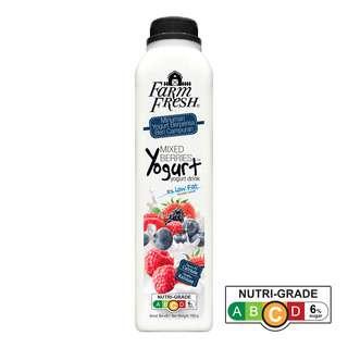 Farm Fresh Yogurt Bottle Drink - Mixed Berries