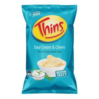 Thins Potato Chips - Sour Cream & Chives