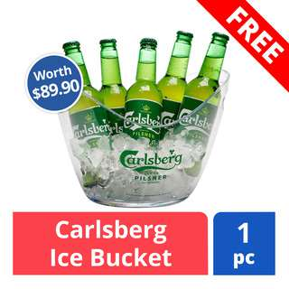 FREE Ice bucket (worth $29.90)