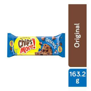 Try your favorite Chipsmore Original Cookies. Indulge yourself with the irresistible full size cookie that has an abundance of real chocolate chips and hazelnut inclusion in every bite. The tray sharing pack is the perfect pack for quick enjoyment with friends!  Chipsmore MidPack comes in 3 different flavours.  Chipsmore is a brand that is loved by all generations. The delicious chocolate chip cookies is known for their generous amount of chocolate chips in every bith. Chipsmore, the forever great snack!   More Chips, More Yum Enjoy the great chocolate taste you love!