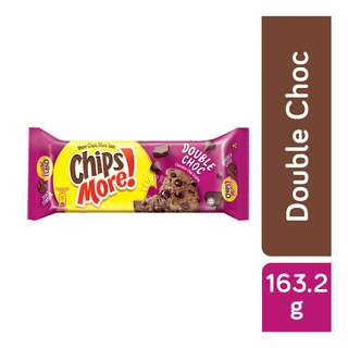 Try your favorite Chipsmore Double Chocolate Cookies. Indulge yourself with the irresistible full size cookie that has an abundance of real chocolate chips and hazelnut inclusion in every bite. The tray sharing pack is the perfect pack for quick enjoyment with friends!  Chipsmore MidPack comes in 3 different flavours.  Chipsmore is a brand that is loved by all generations. The delicious chocolate chip cookies is known for their generous amount of chocolate chips in every bith. Chipsmore, the forever great snack!   More Chips, More Yum Enjoy the great chocolate taste you love!
