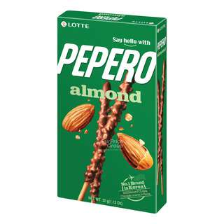 Lotte Pepero Stick Biscuits - Almond & Chocolate
