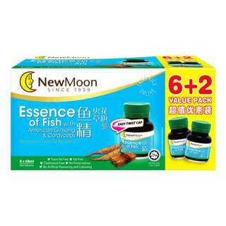 New Moon Essence of Fish - American Ginseng